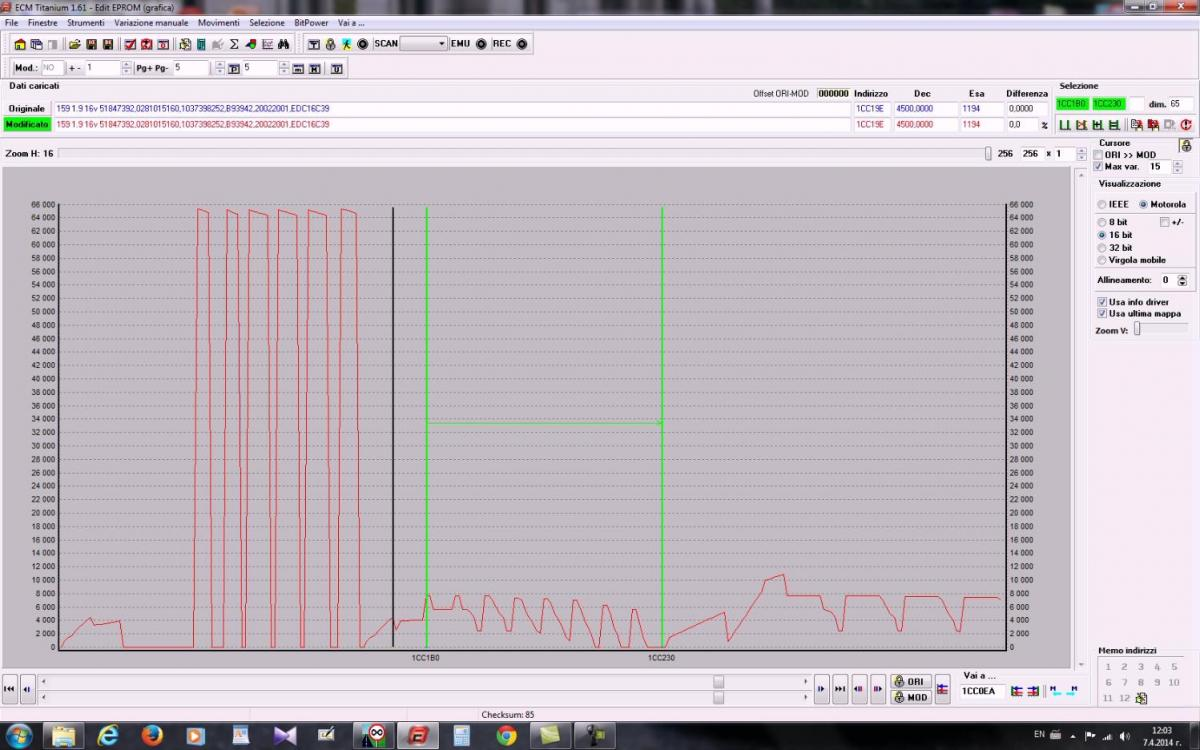 Aiuto rev limiter su edc16c39 - Auto diesel - ETP Solutions